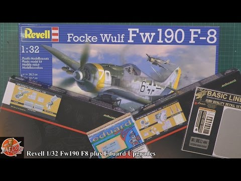Revell 1/32nd FW190 F-8 and Eduard Big Sim sets Review