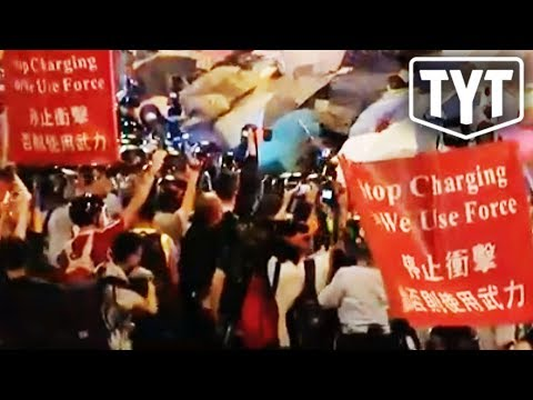 Protests Erupt in Hong Kong