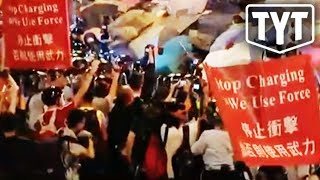 Hong Kong Erupts In Protests