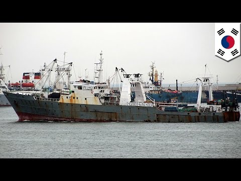 52 fishermen from Korean trawler missing in frigid waters off Russia's Far East