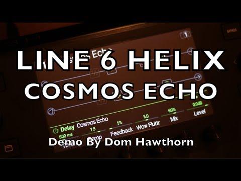 line 6 helix roland space echo re 201 cosmos echo short demo youtube. Black Bedroom Furniture Sets. Home Design Ideas