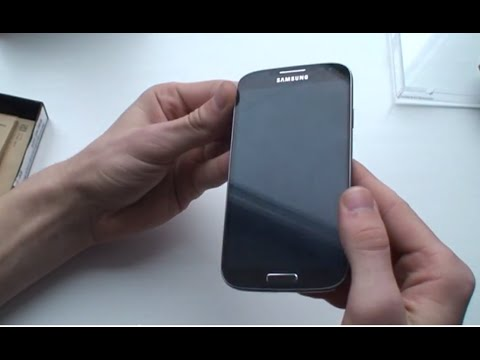 Знакомство с Samsung Galaxy S4 Black Edition