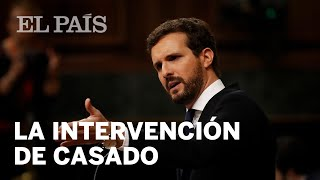DEBATE de INVESTIDURA: La intervención de CASADO en 10 minutos