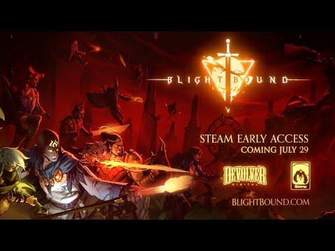 Blightbound | Developer Walkthrough | Steam Early Access July 29