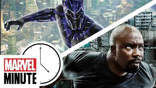 Marvel Studios' Black Panther, Luke Cage and More! | Marvel Minute
