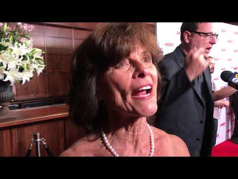Adrienne Barbeau ('Maude') at Norman Lear 96th Birthday Party Red Carpet | GOLD DERBY