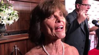 Adrienne Barbeau ('Maude') at Norman Lear 96th Birthday Party Red Carpet   GOLD DERBY