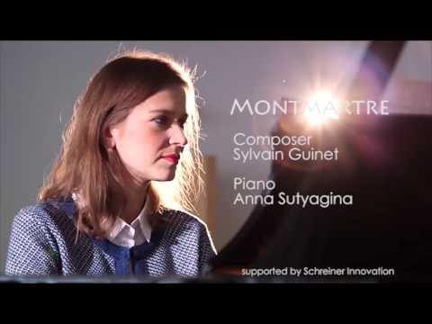 Anna Sutyagina plays Sylvain Guinet  Montmartre