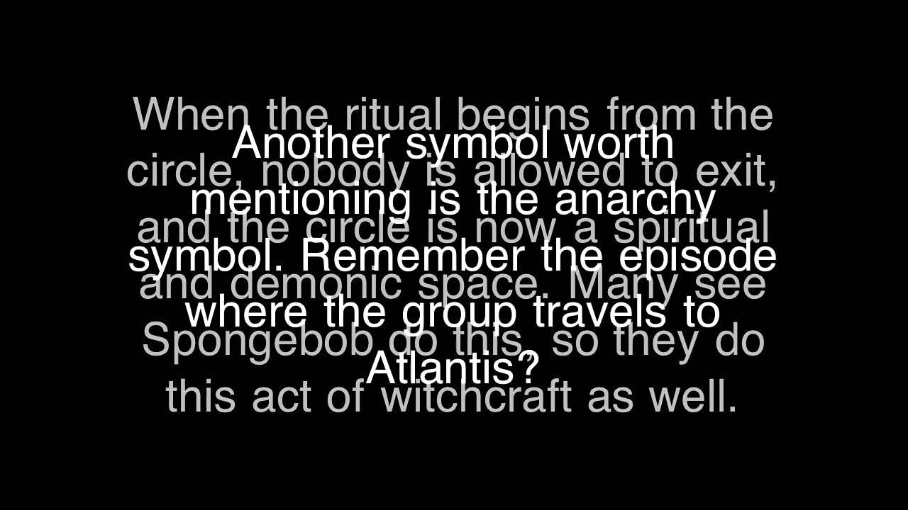 Spongebob illuminati satanic symbols youtube spongebob illuminati satanic symbols biocorpaavc