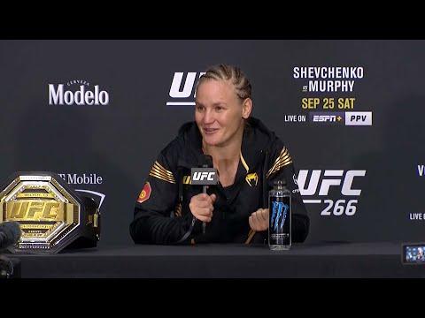 UFC 266: Valentina Shevchenko Post-fight Press Conference