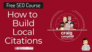 How To Build Local Citations, Local Citations for Local SEO