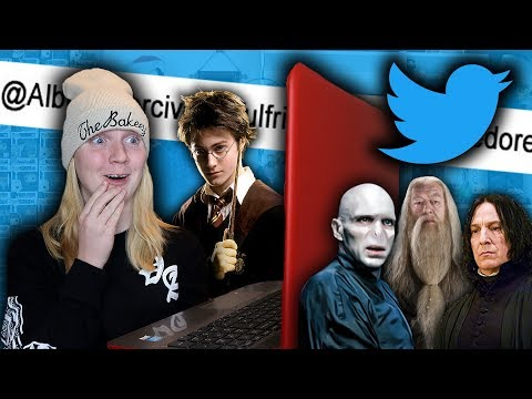 If Harry Potter Characters Had Twitter