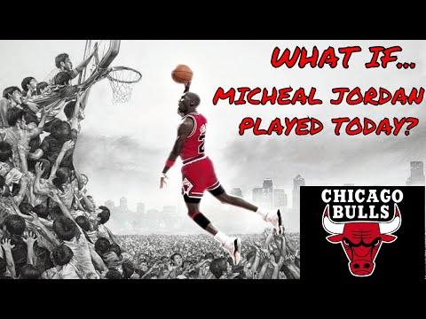 WHAT IF MICHEAL JORDAN PLAYED IN TODAYS NBA?! NBA2K18 BULLS REBUILD