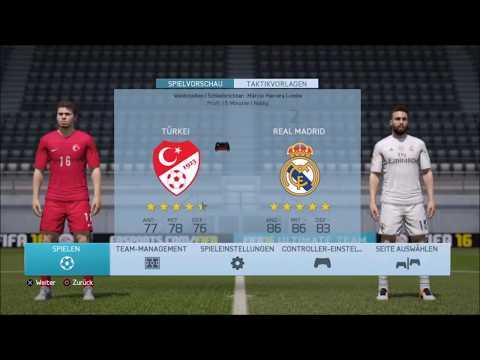 Türkei vs Real Madrid (PROFI MODUS) *Spannend*