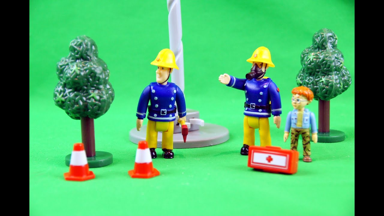 Best Fireman Sam Toys Kids : Fireman sam figure and accessory pack kids toys