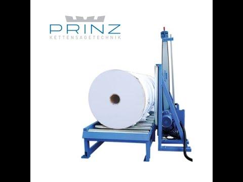 видео: РЕЗКА РУЛОНОВ БУМАГИ /// Торцовка PRINZ™ TWINPAPER (Австрия)