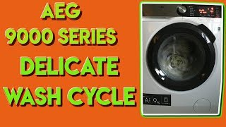 AEG 9000 Series Delicate Wash Cycle 2018