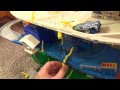 Hot Wheels World Super Electronic City Center Playset Review and Unboxing