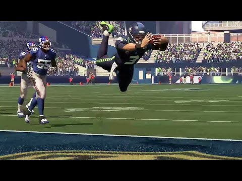 Madden 16 Seahawks vs Giants  EXHIBITION Game Play Xbox One