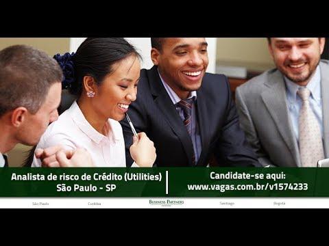 Vaga - Analista de Risco de Crédito (Utilities) - São Paulo