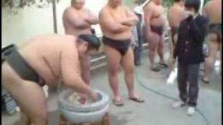 Sumo Wrestlers in KIST School Tokyo