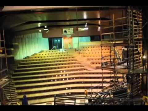 The New Auditorium at the Lyric Theatre Belfast