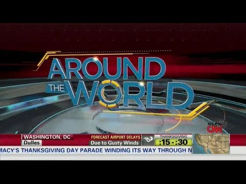 CNN US: 'Around the World' - Open and close [112813]
