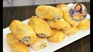 хрустящие Мясные Пирожки с Тестом Фило