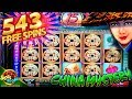 543 FREE SPINS on CHINA MYSTERY BIG WIN!!! 1c Konami Video Slot