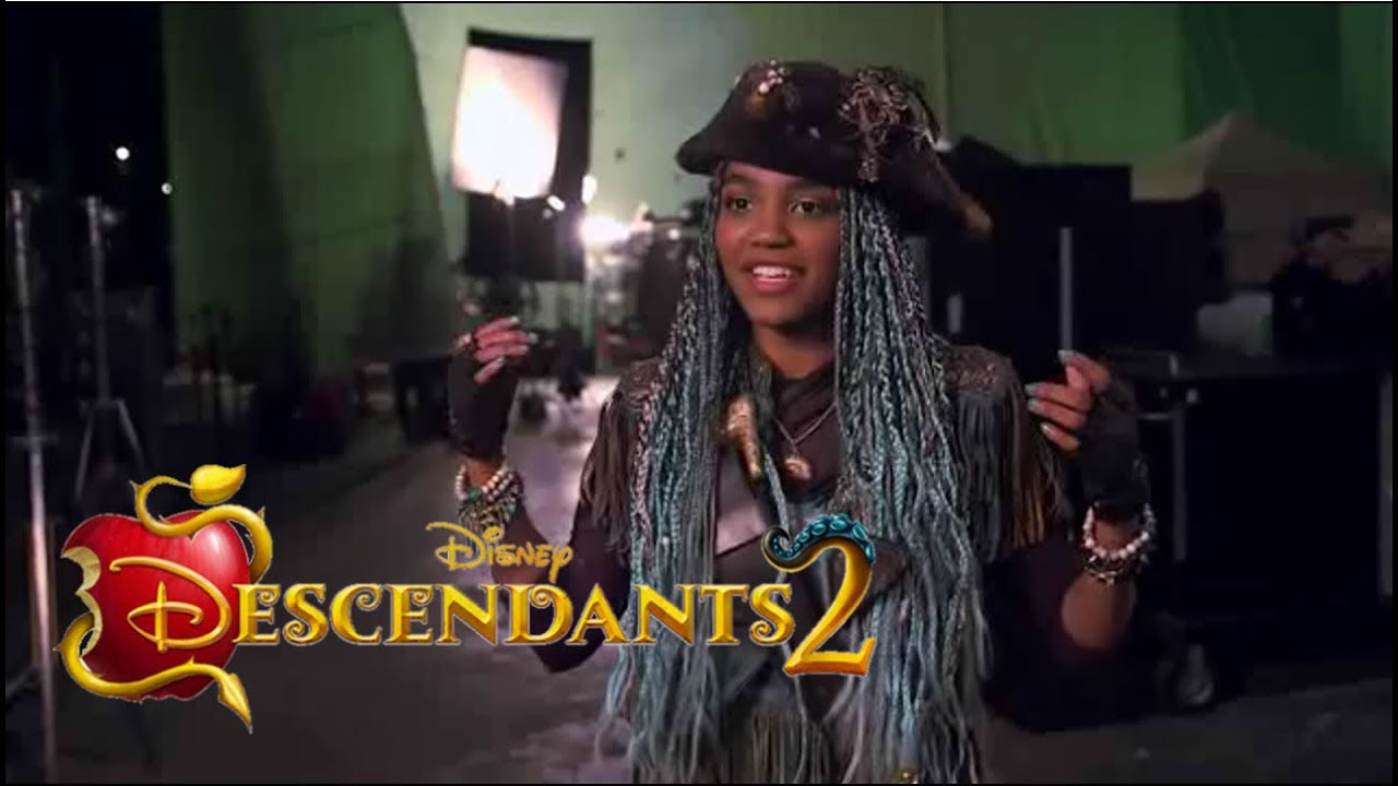 Descendants 2 Whats My Name Behind The Scenes Youtube