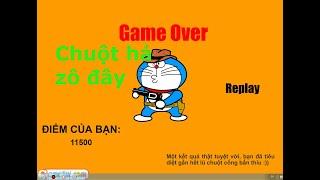 game diệt chuột - doraemon chơi lớn dám cầm súng bắn chuột