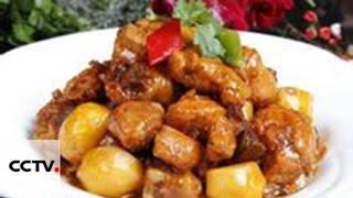 Жаренные кусочки курицы в соевой пасте