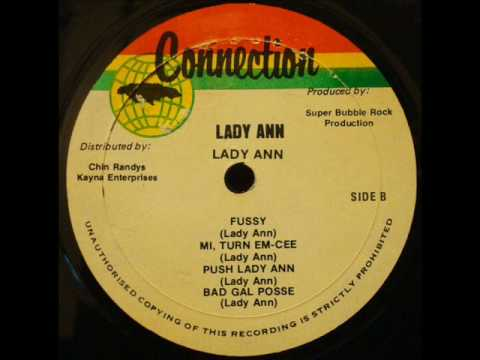 Lady Ann - Fussy / Self Titled Album / Connection Records