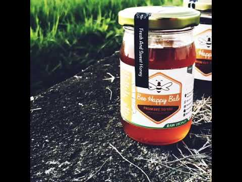 Bee Happy Bali Organic Forest Honey, Madu Hutan Asli
