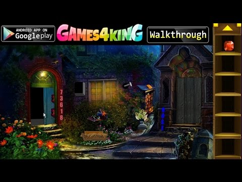 G4K Witch House Escape walkthrough Games4King.