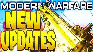 NEW MODERN WARFARE UPDATES! 1.12 PATCH - FREE GIFT, NEW MAPS, CRANKED, DROP ZONE! COD MW 1.12 Update