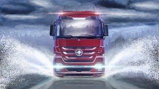 Колесим на Daf // Euro Truck Simulator 2.   #10 (руль logitech g29)