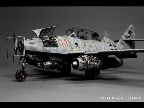 Messerschmitt Me-262 Nightfighter Hobby Boss 1:48 - Ww2 Aircraft Model