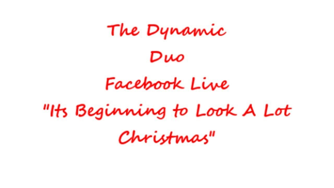 The Dynamic Duo Morning Show_ It\'s Beginning to look a lot like ...