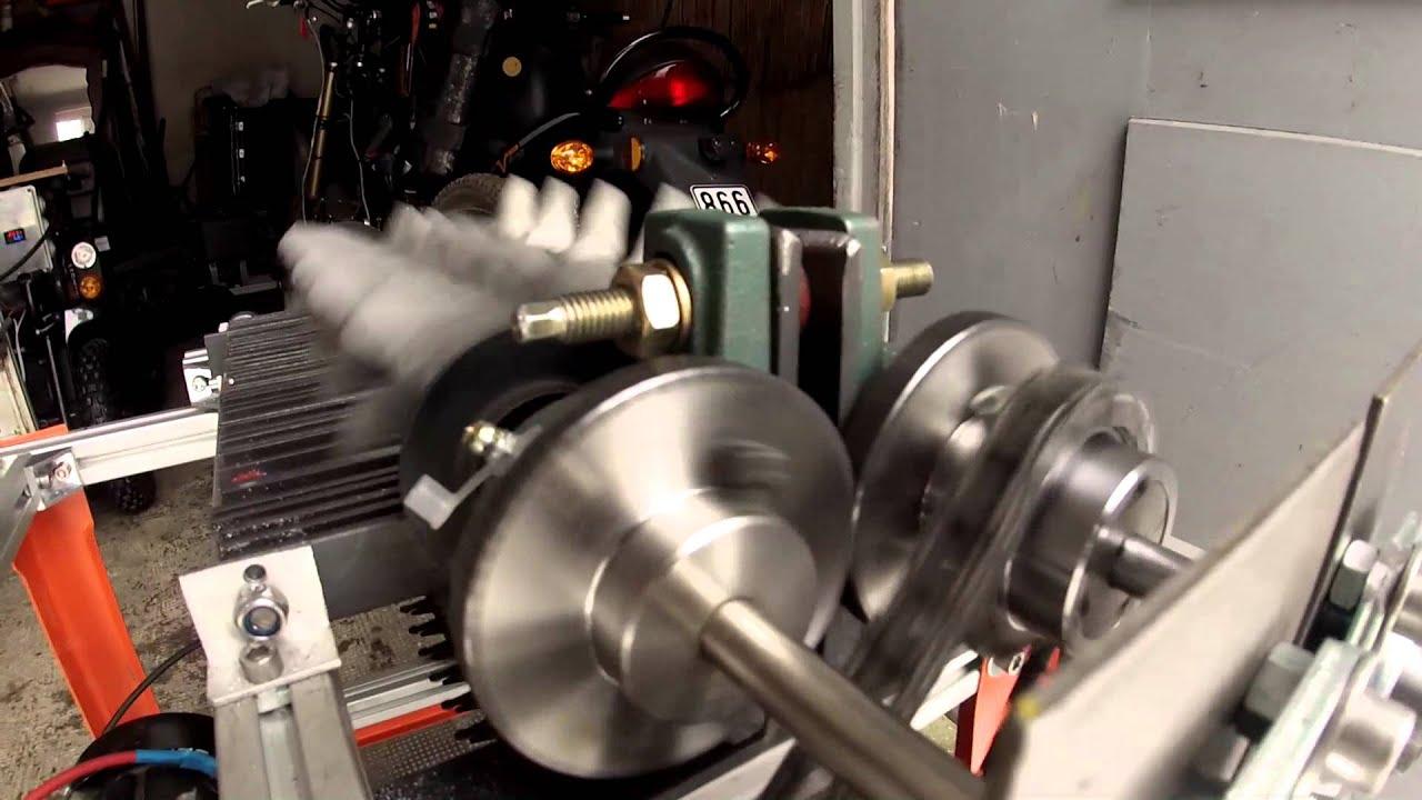 Super 2 .Testlauf Eigenbau - Shredder 24 volt - YouTube XN07