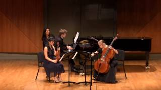 Season 2014-15 JCM-LA Final Concert: Piano Trio No. 1