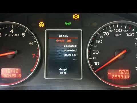 Audi A4 B6 brakes problem