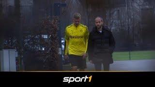Premiere im BVB-Outfit: So lief Haalands erster Arbeitstag | SPORT1