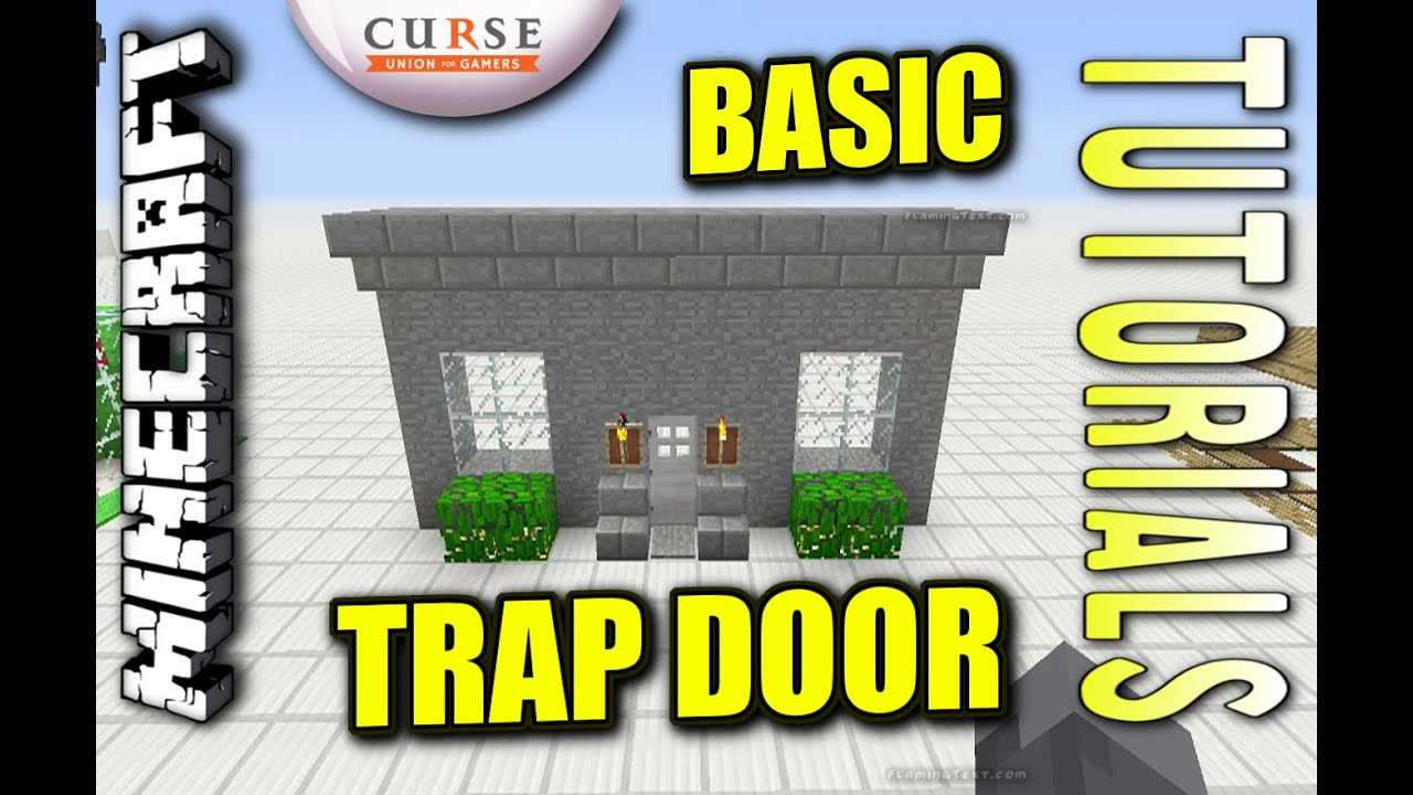 Minecraft ps4 basic door trap how to tutorial ps3 xbox minecraft ps4 basic door trap how to tutorial ps3 xbox ccuart Image collections