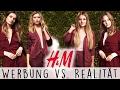 WERBUNG NACHGESTELLT #2 - Werbung vs. Realität mit Klein aber Hannah!