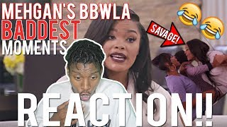 SHE BROKE A GLASS ON HER HEAD!!   BBWLA: Mehgan's Best Moments REACTION