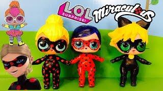 Poupée LOL Surprise Antibug Miraculous Ladybug DIY Custom LOL Surprise Doll Tutorial