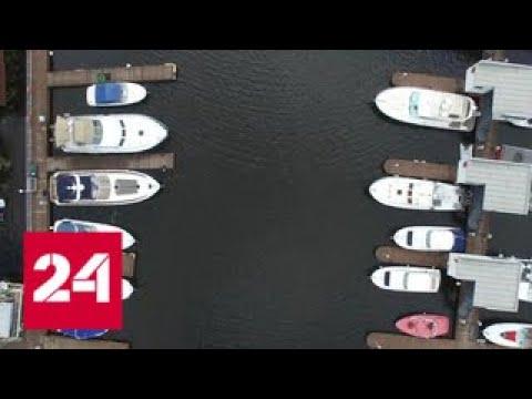 Смотреть С яхты - в автозак: замдиректора ФСИН не успел отплыть до прихода оперативников онлайн