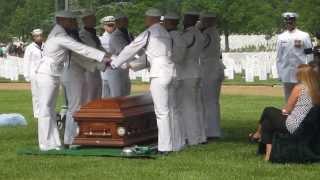 EODCS Timothy Johns Burial Service - Arlington National Cemetery