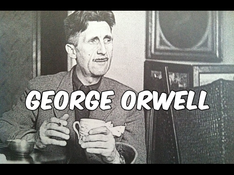 the historical background of george orwells In the course of writing author biographies, one of the things that never fails to make me laugh is how awful many of them did in school george orwell was certainly not an exception to this odd standard, despite the brilliant the work he would later go on to produce.